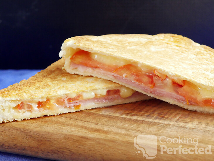 Ham, Cheese, Tomato, Toasted Sandwich