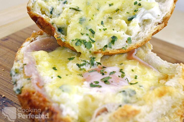 Cheesy Egg Bowl