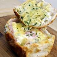 Ham Cheese Egg Bowl