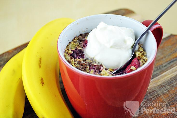 Microwave Oatmeal in a Mug
