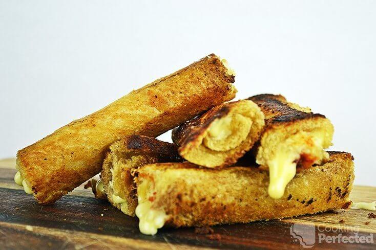 Bread Cheese Sticks