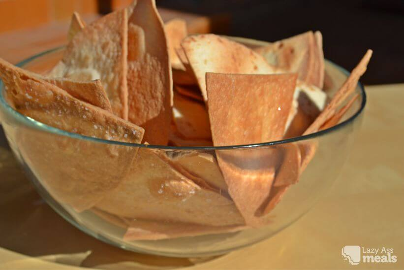 Homemade Tortilla Chips Recipe