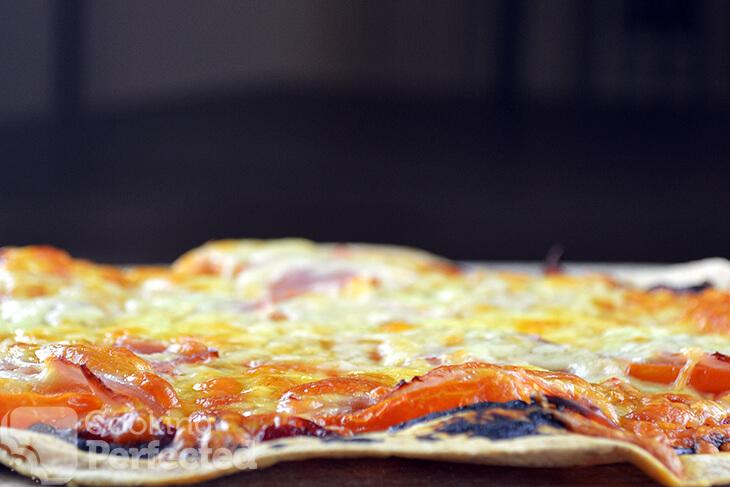Tortilla Crust Pizza
