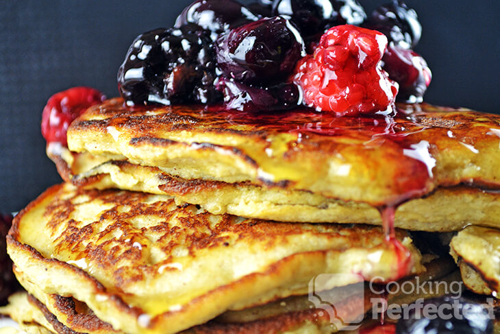 Paleo Pancakes with Coconut Flour and Banana