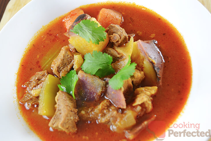 Beef Stew with Sweet Potato