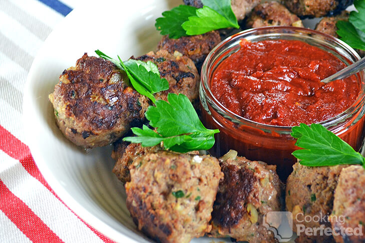 Paleo Meatballs with Homemade Ketchup