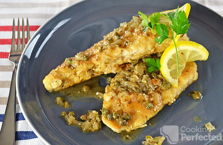 Chicken Piccata with Capers and Lemon Sauce