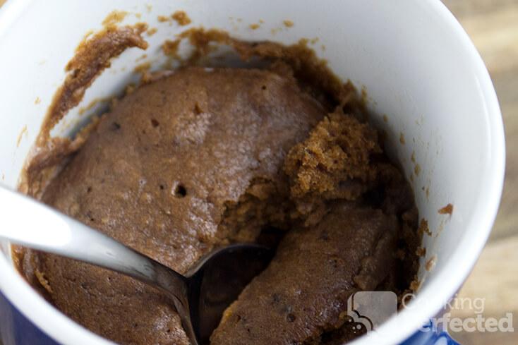 Espresso Cake in a Mug