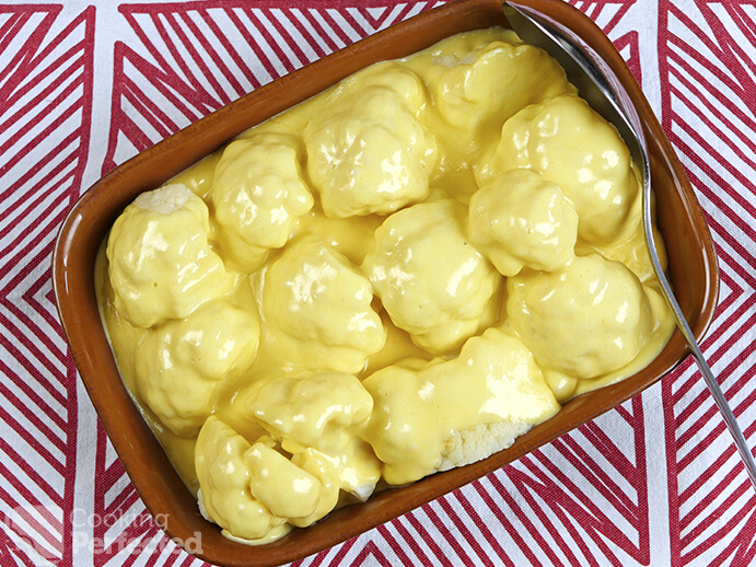 Stove-top Cauliflower Cheese