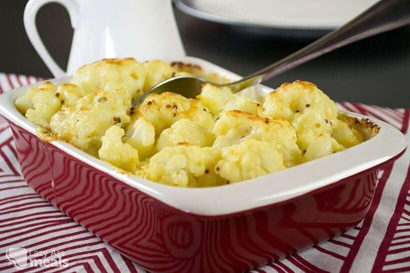 Easy Cauliflower Cheese