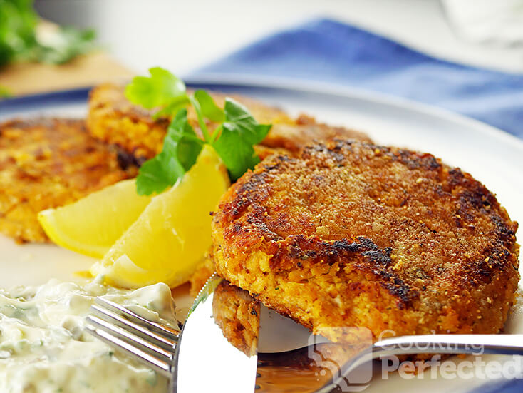 Paleo Salmon Patties made with Canned Salmon