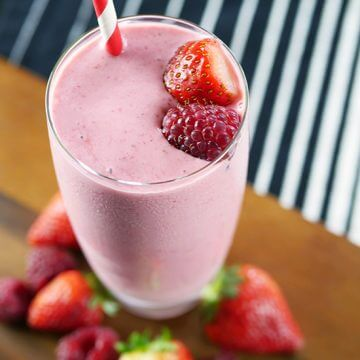 Strawberry Raspberry Smoothie