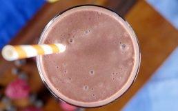 Chocolate Raspberry Smoothie