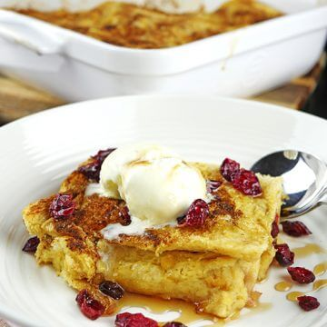 Easy Bread & Butter Pudding