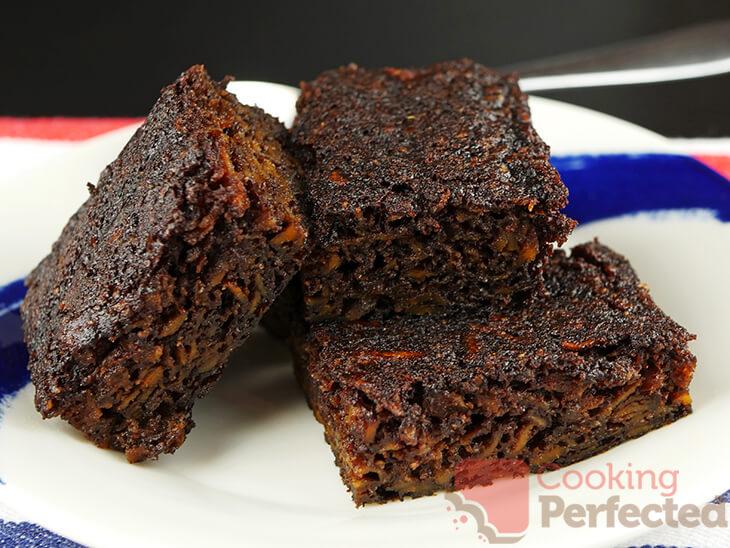 Paleo brownies made with sweet potato