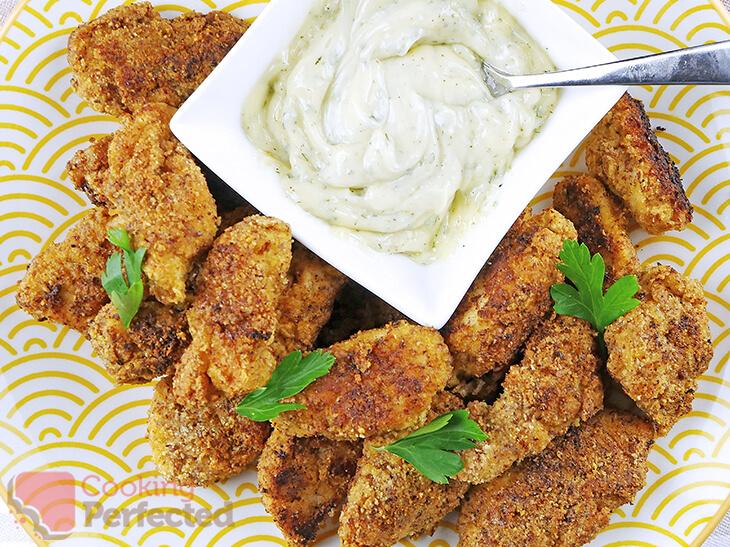 Paleo Chicken Nuggets using Almond Flour
