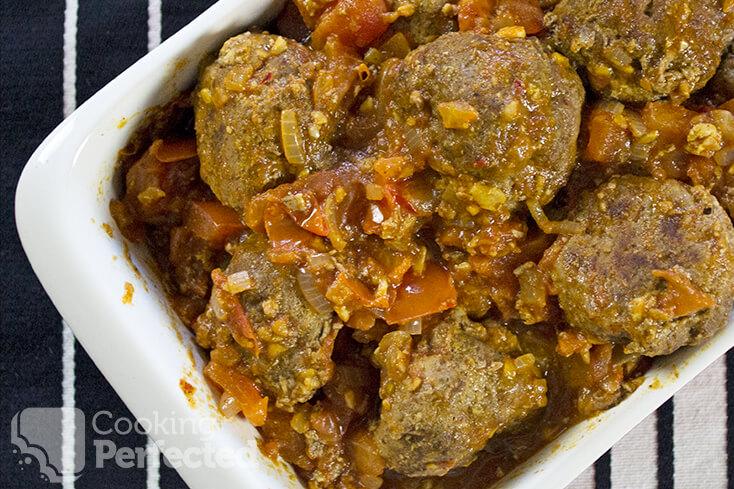 Spicy Beef Meatballs
