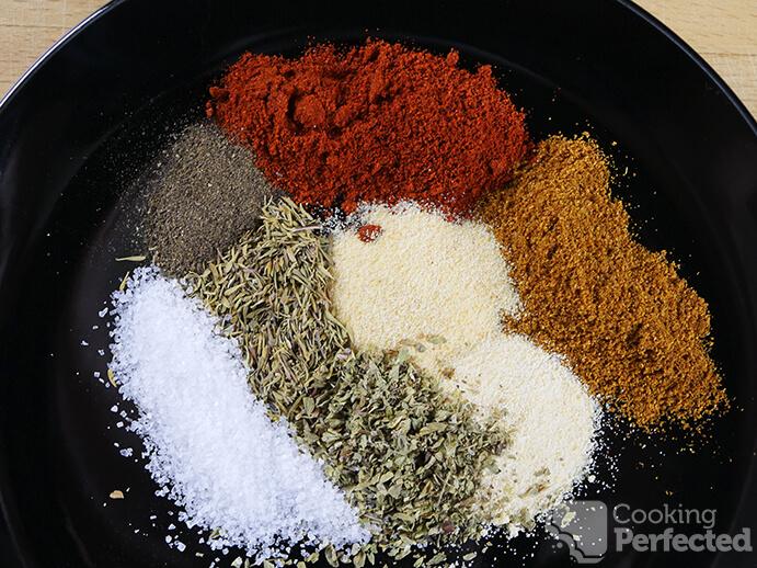 The Spices in Cajun Seasoning