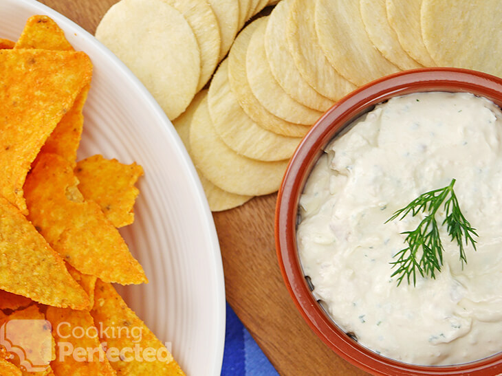 Smoked Salmon Dip with Cream Cheese and Dill