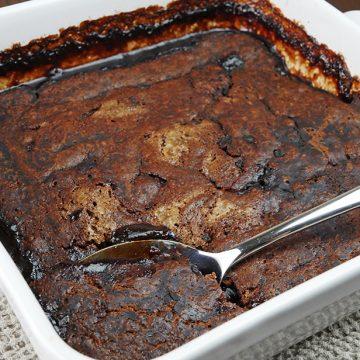Gluten-free Chocolate Self Saucing Pudding