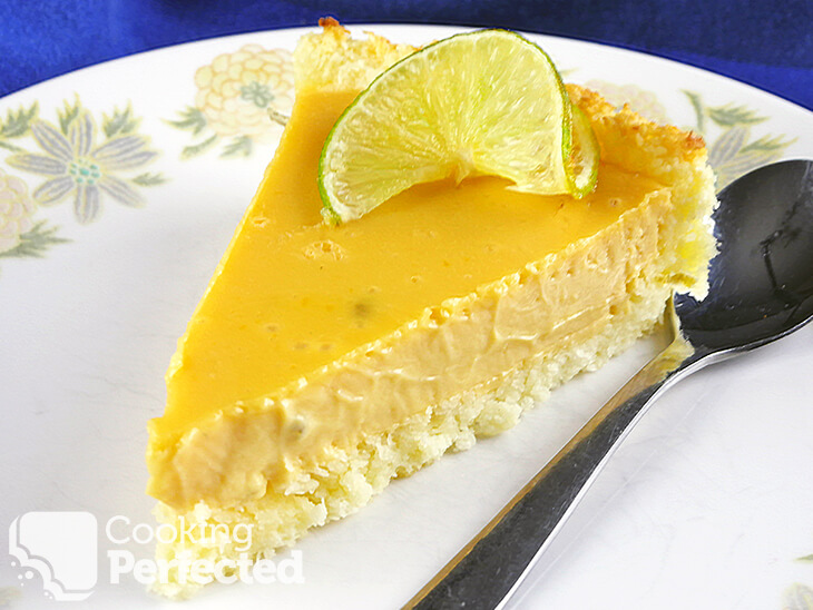 Key Lime Pie with no Meringue