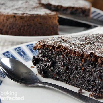 Moist Gluten-Free Chocolate Fudge Cake