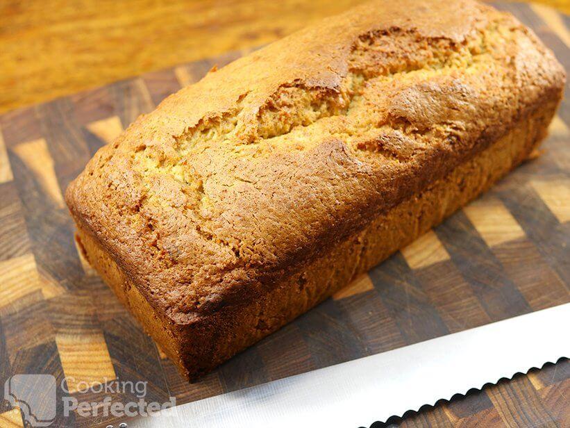 Freshly Baked Gluten-Free Banana Bread