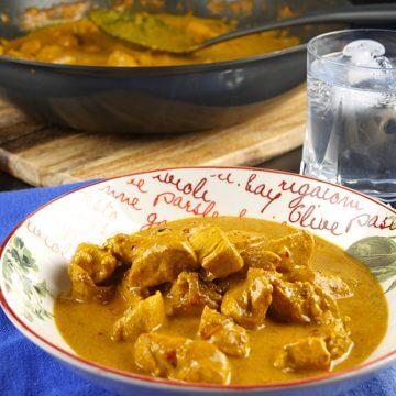 Paleo Chicken Korma