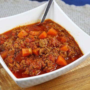Paleo Chili Con Carne