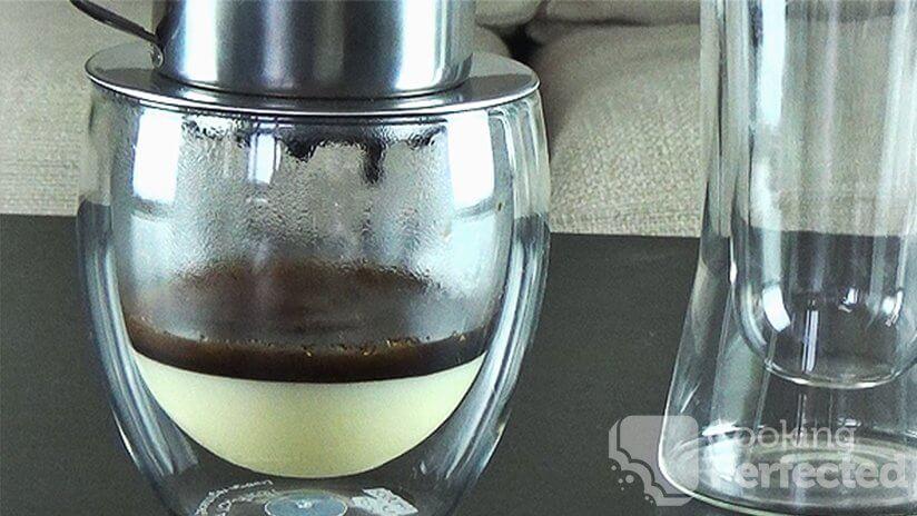 Homemade Vietnamese Iced Coffee