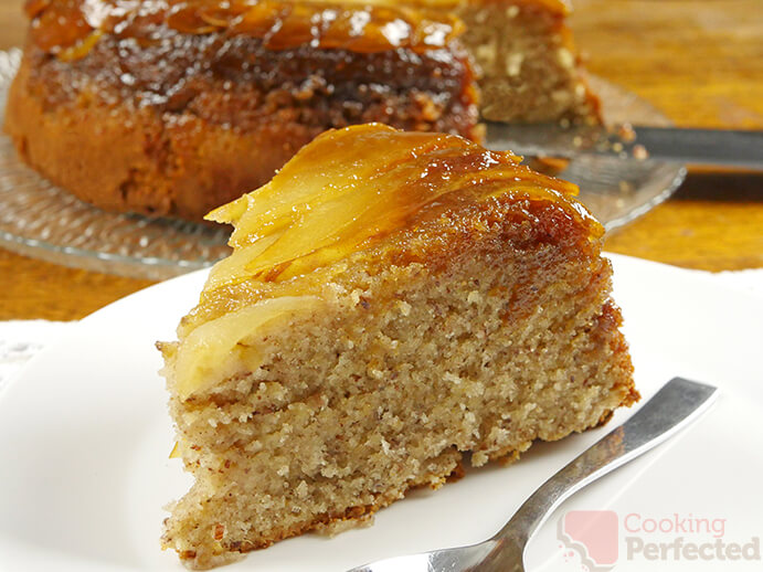 Caramelized Pear Upside-down Cake