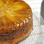 Gluten-Free Upside-Down Pear Cake