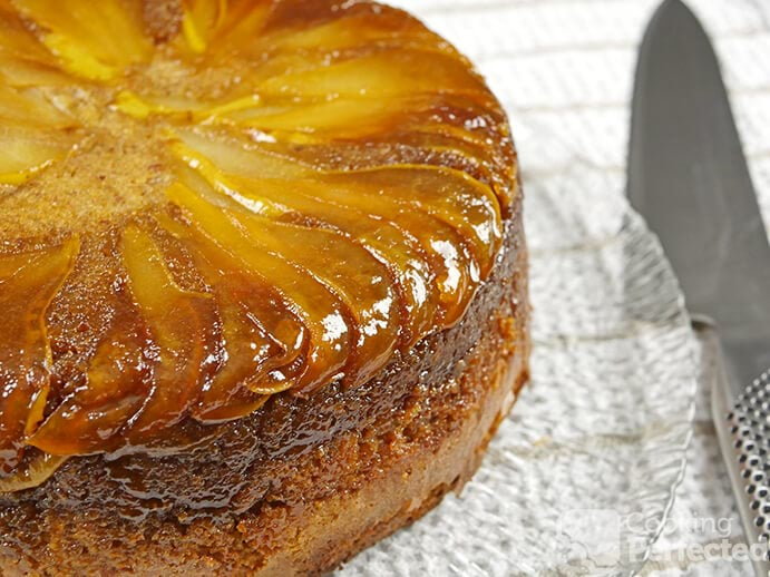 Gluten-Free Upside-Down Pear Cake