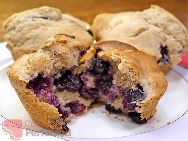Homemade Gluten-Free Blueberry Muffins