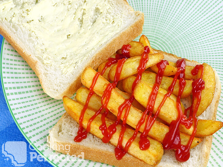 Chip Cob with Tomato Sauce