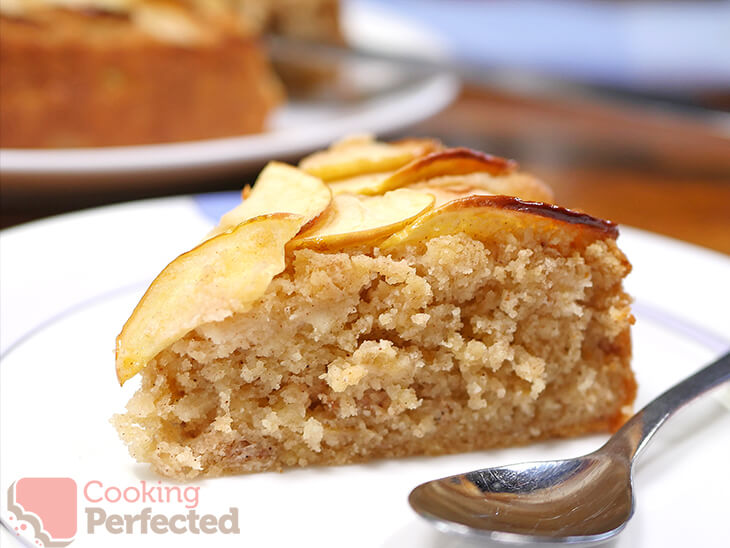Apple Cake made with Gluten-free Flour