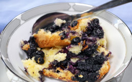 Gluten-Free Blueberry Cobbler