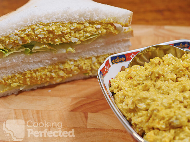 Eggs, Mayonnaise, and Curry Powder
