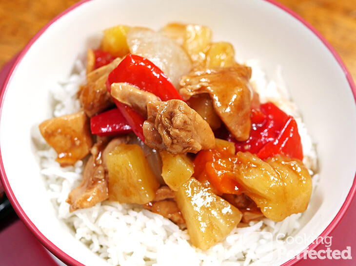 Sweet and Sour Chicken from the Pressure Cooker