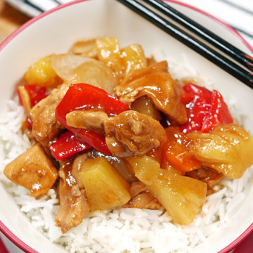 Instant Pot Sweet and Sour Chicken