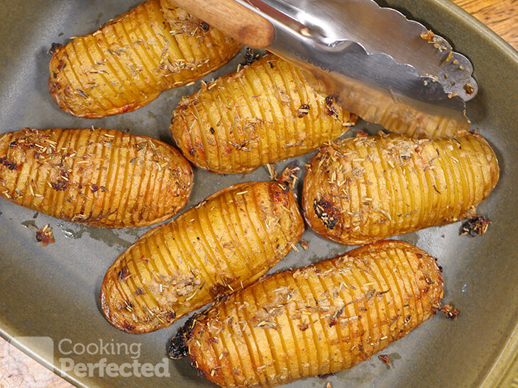 Hasselback Potatoes Baked in the Oven