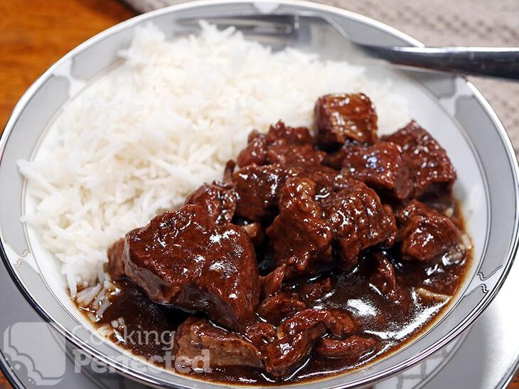 Korean Beef cooked in the Instant Pot