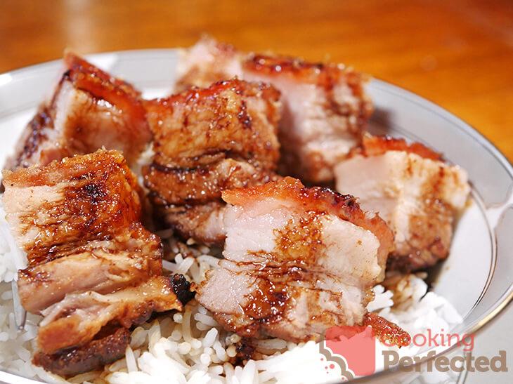 Air Fryer Pork Belly