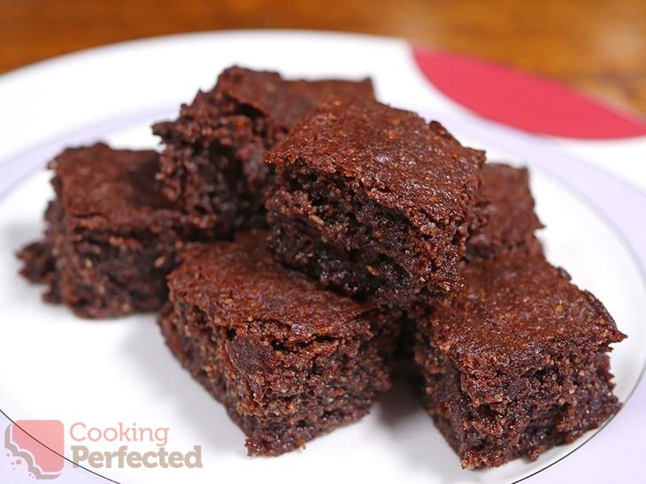 Homemade Air Fryer Brownies