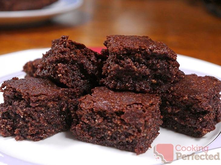 Air Fryer Chocolate Brownies