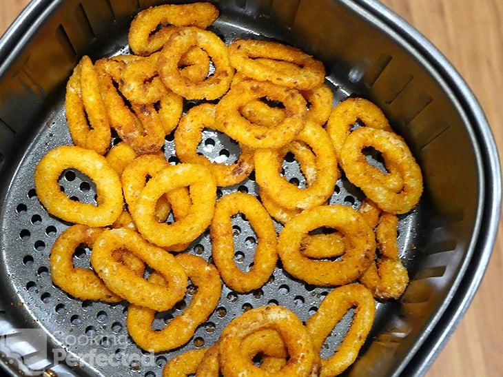 Frozen Onion Rings in the Air Fryer