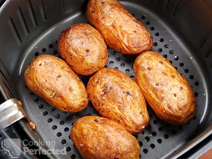 Baked Potatoes in the Air Fryer
