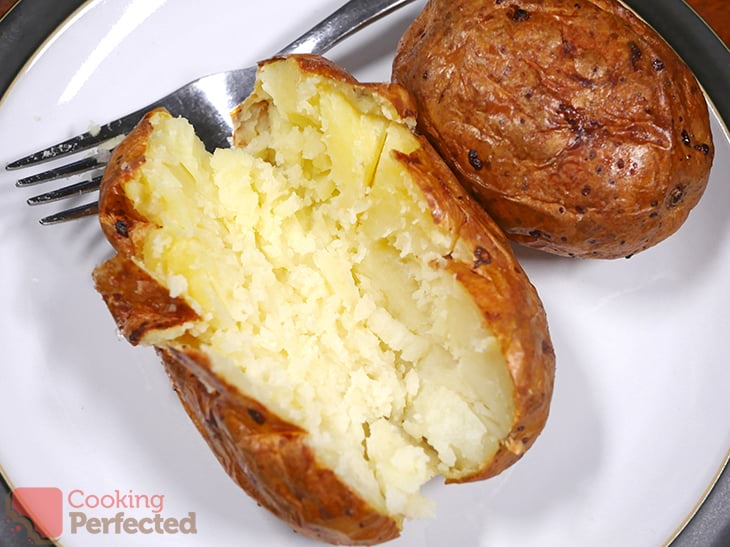 Jacket Potatoes from out of the Air Fryer