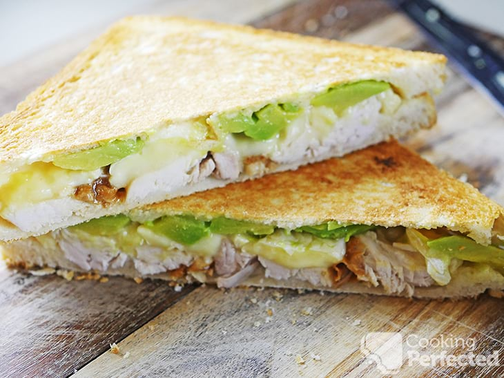 Chicken, Brie, and Avocado Sandwich