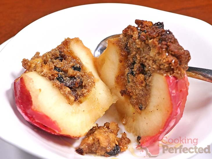 Baked Apple cooked in the Air Fryer